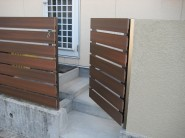 オリジナルウッド門扉