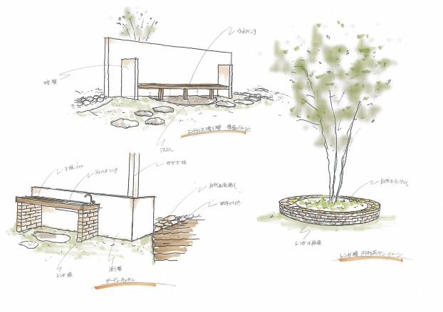 北欧の風を感じる憩いの庭 四国中央市