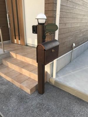 entrance pole