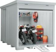 バイクガレージ 床付