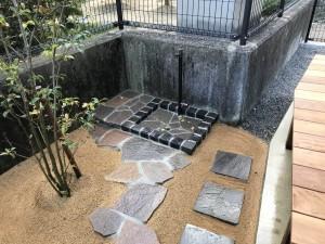 立水栓 ピンコロ 自然石